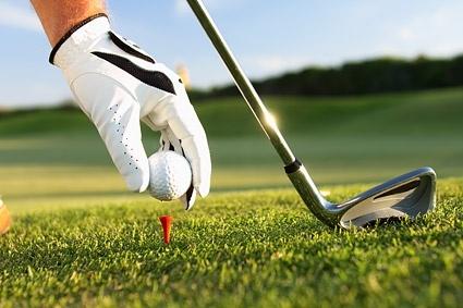 golf closeup picture