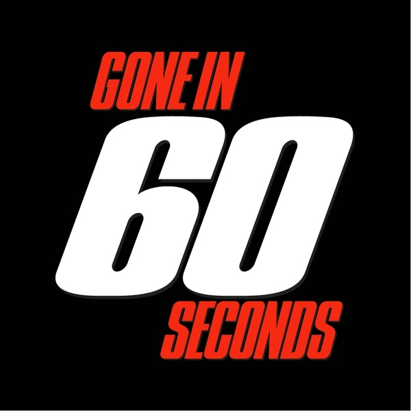 Gone in 60 seconds | download logos | gmk free logos.