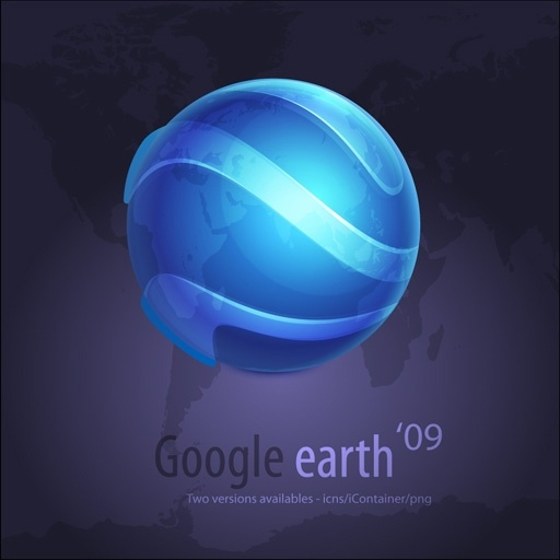 Google Earth Icons icons pack