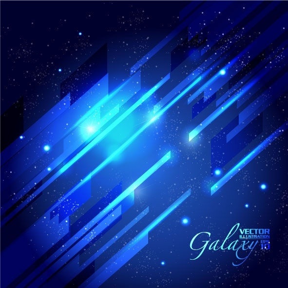 gorgeous blue glare background 03 vector