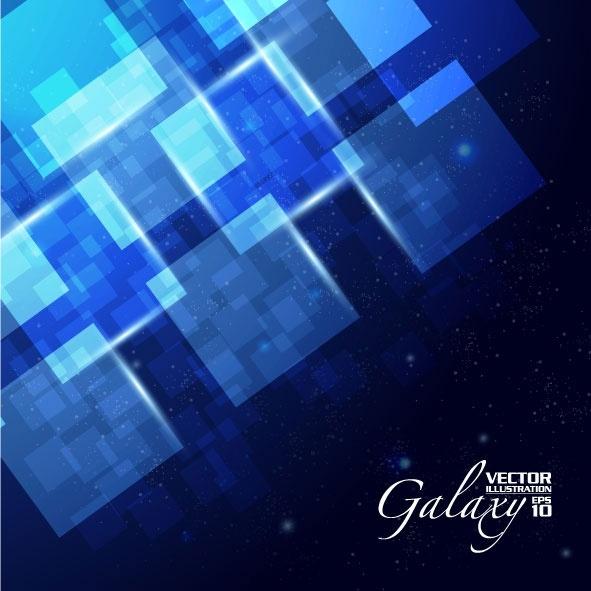 gorgeous blue glare background 04 vector