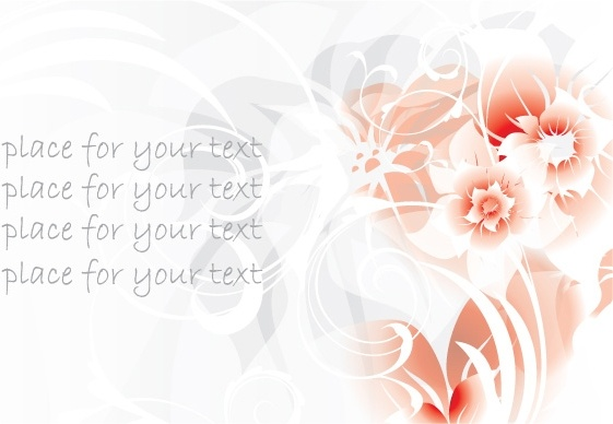 gorgeous red pattern background 04 vector