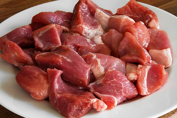 goulash meat pork
