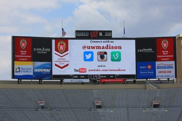 graduation billboard in madison wisconsin