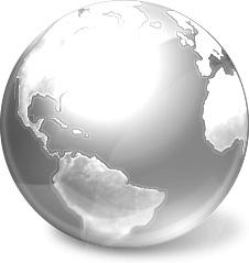 Gray global earth