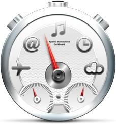 Gray multi functions clock