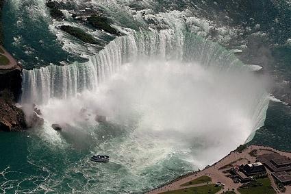 great falls landscape picture