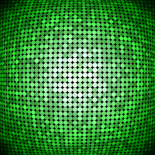 green abstract pattern vector background