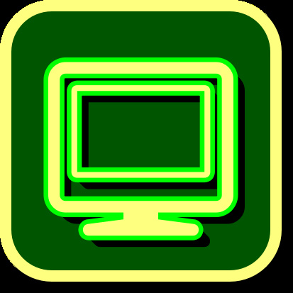 green iphone icon