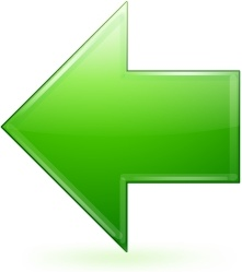 Green left arrow