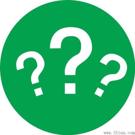 Green question mark icon vector Free vector in Adobe ...