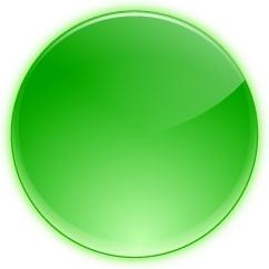 Green round button