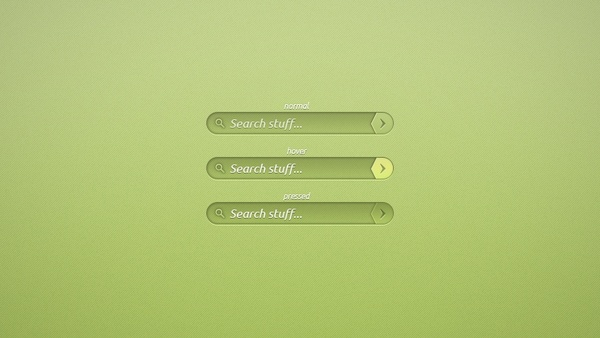 Green Search Bar
