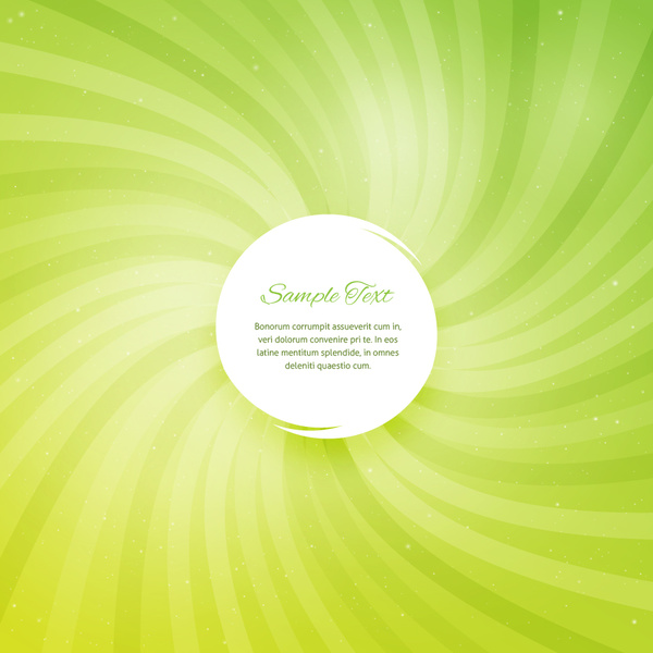 green spin background