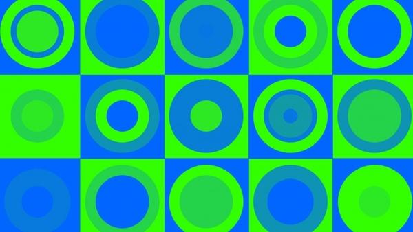 greenblue retro background