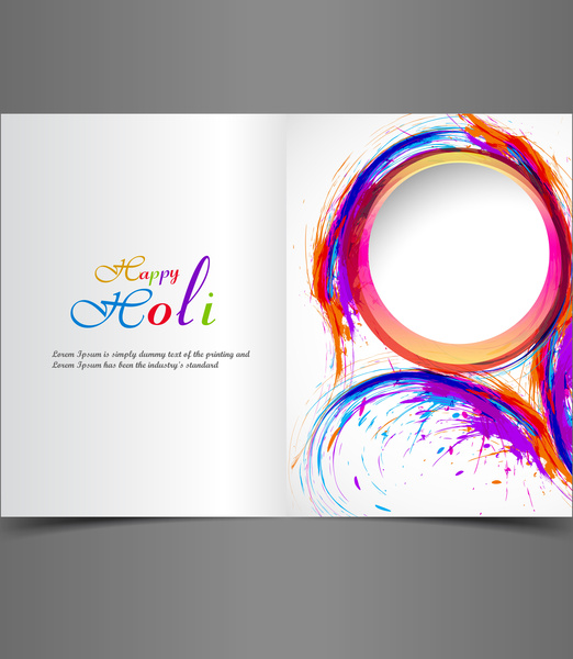 Greeting card colorful background of indian festival holi with greeting card colorful background of indian festival holi with celebration vector illustration m4hsunfo