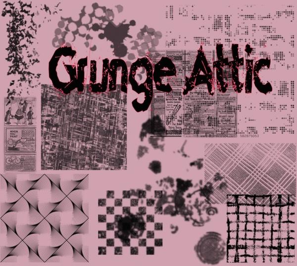 grunge attic