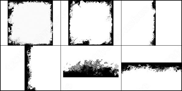 Grunge frame brush photoshop brushes in Photoshop brushes abr ( .abr ...