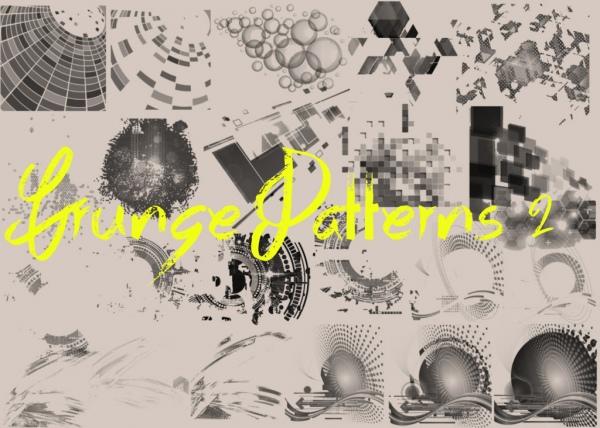 grunge patterns 2