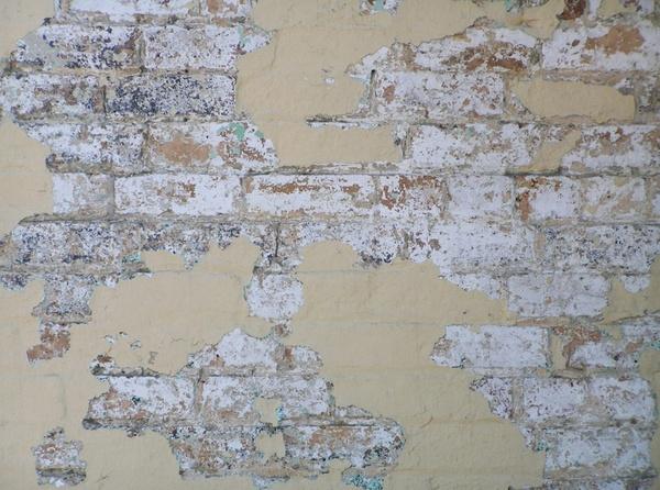grungy urban brick wall