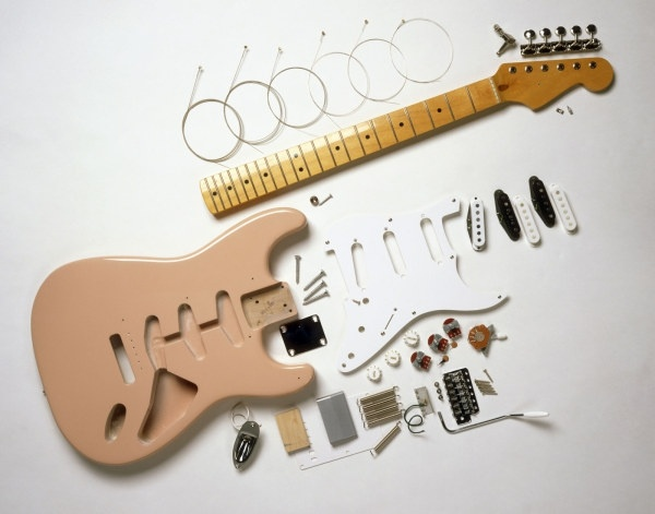 guitar decomposition of the hd picture
