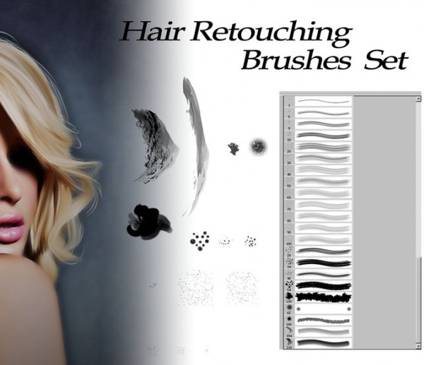 Tutorial. How to load new brushes in adobe photoshop.