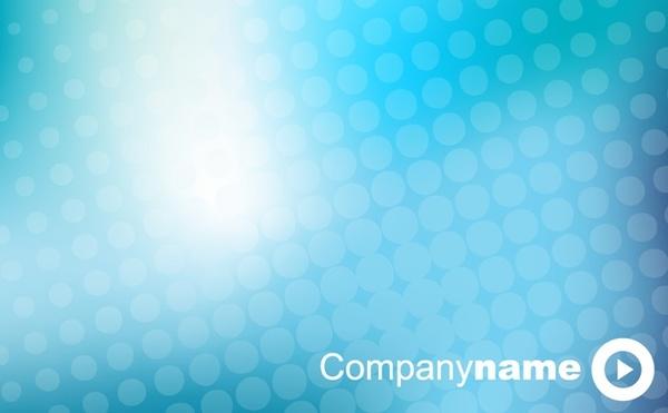 business presentation cover background sparkling blue design