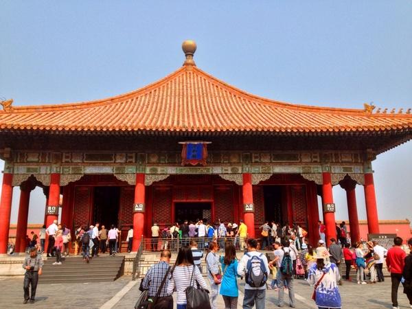 hall behind main hall in beijing china
