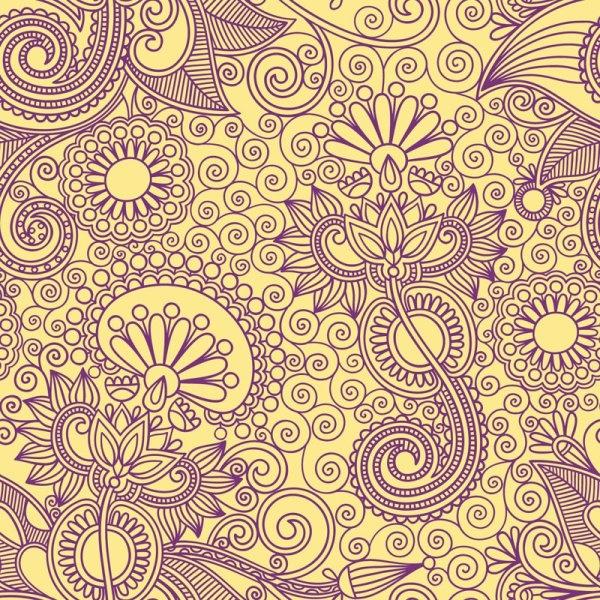 ham pattern background 04 vector