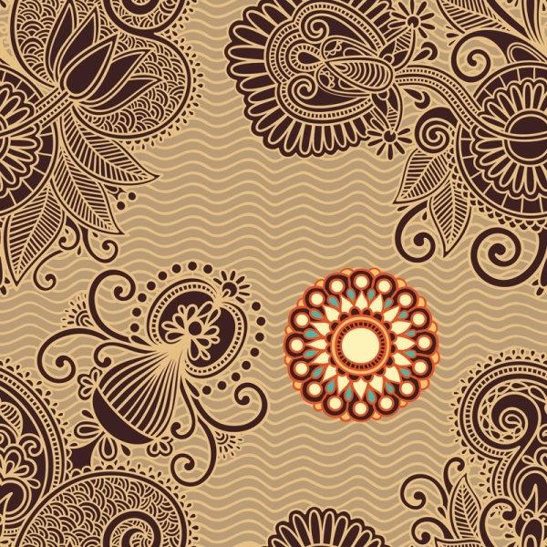 ham pattern background 05 vector