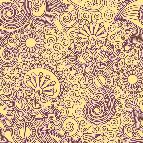 ham pattern pattern background vector