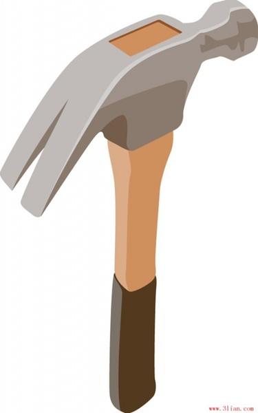Vector Illustration Hammer: Hammer Free Vector Download (186 Free Vector) For
