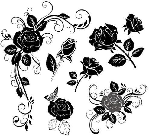 Hand Draw Flower Vector Free Vector In Coreldraw Cdr Cdr Vector