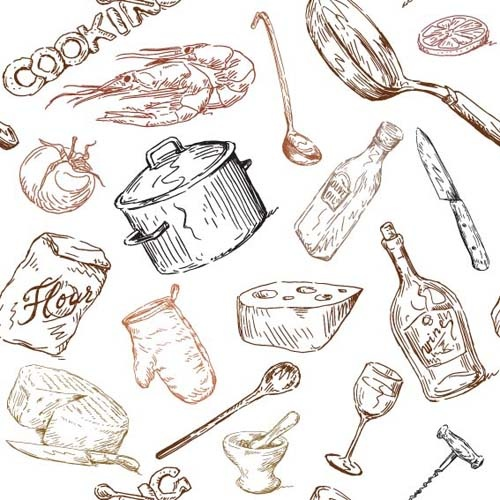 Hand Drawn Food Free Vector Download (11,289 Free Vector