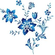 handpainted flowers layered psd 5