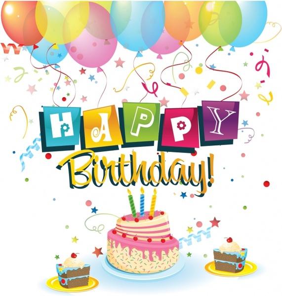 Happy Birthday Clip Art Free Free Vector Download (223,125