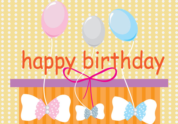 3d Free Download Happy Birthday Card Free Vector Download