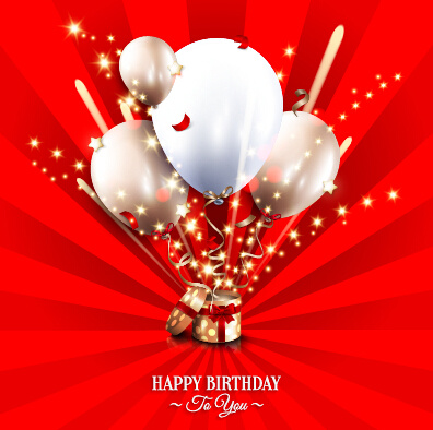 Happy birthday greeting cards free vector download 16 209 - Birthday cards images free download ...
