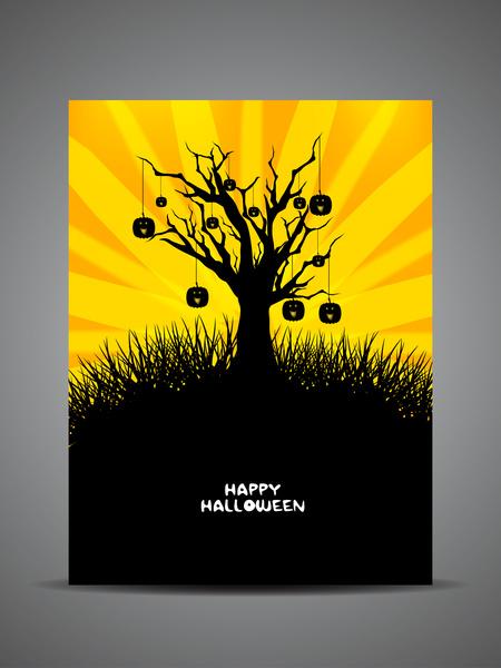 happy halloween background free vector in encapsulated postscript