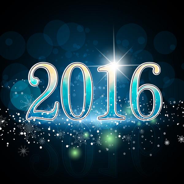 2016 >> Happy New Year 2016 Free Vector In Adobe Illustrator Ai Ai