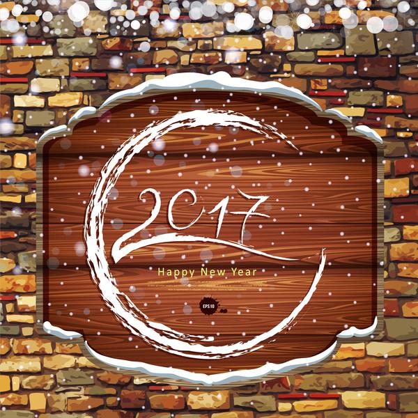 happy new year 2017 decor