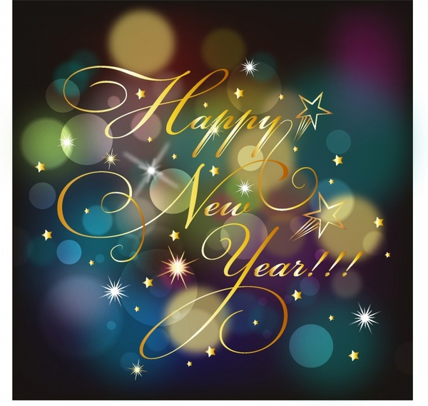 Happy New year background Free vector in Adobe Illustrator ai ( .AI ...
