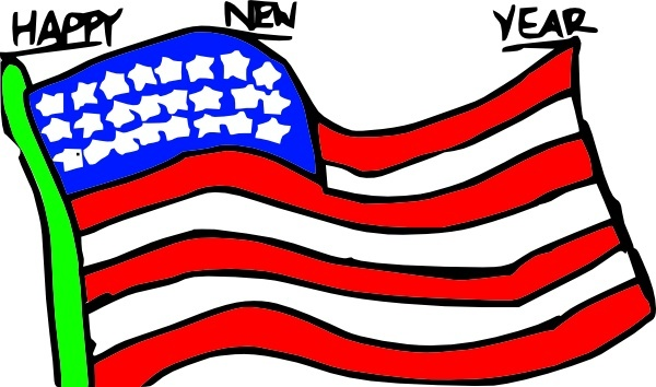 happy new year us flag clip art free vector in open office drawing rh all free download com us flag graphic for pickup truck us flag graphic transparent