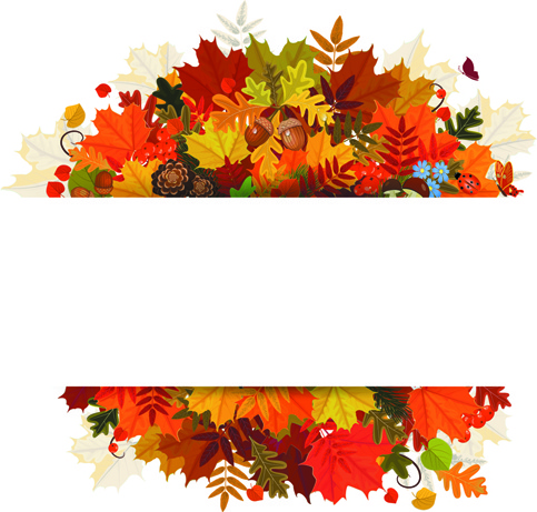 Happy thanksgiving background. Design vector free in