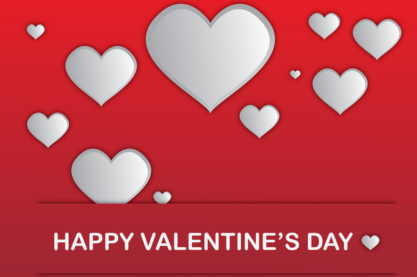 happy valentine day background
