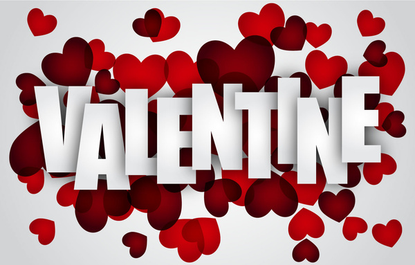 Happy Valentine Day Background Free Vector In Adobe Illustrator Ai