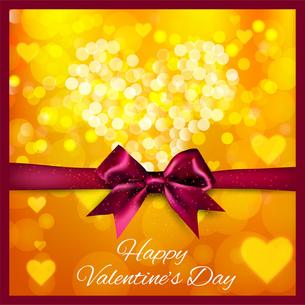 happy valentine day card background