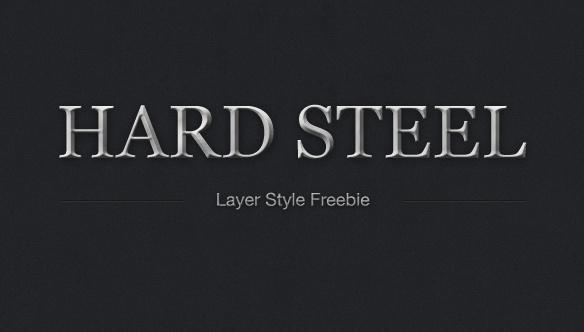 Hard Steel Layer Style