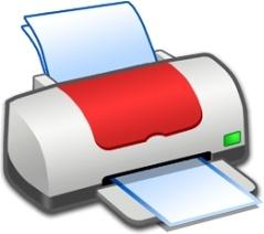 Hardware Printer Red