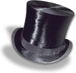 Hat top silk 2